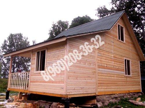 Мы строим отличные и недорогие дома и дачные домики из бруса под ключ